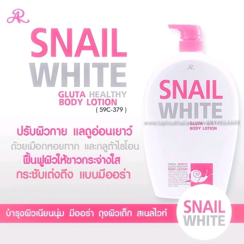 SỮA TẮM TRẮNG DA SNAIL WHITE 800ML