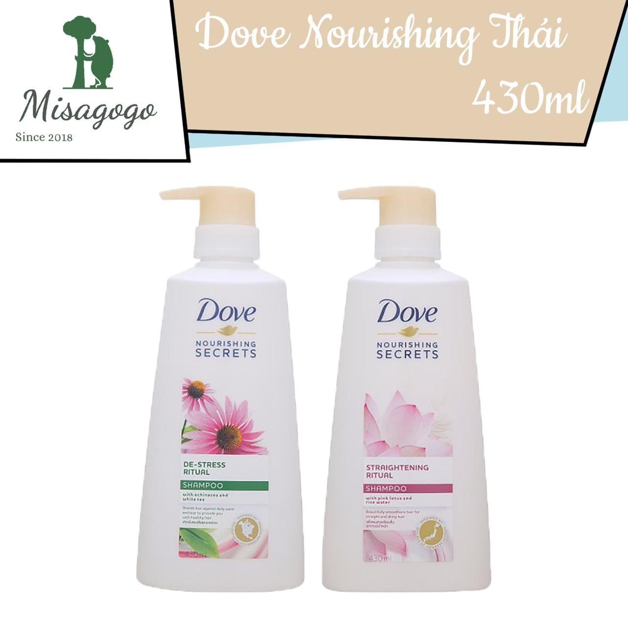 Dầu gội Dove nourishing secrets 430ml Thái Lan
