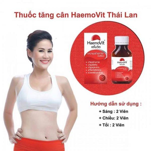 thuốc tăng cân Haemo Vit