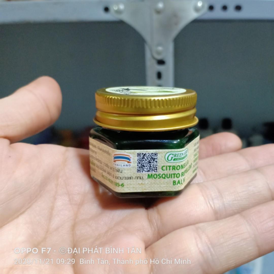 Cao Thoa Muỗi Đốt Green Herb Balm