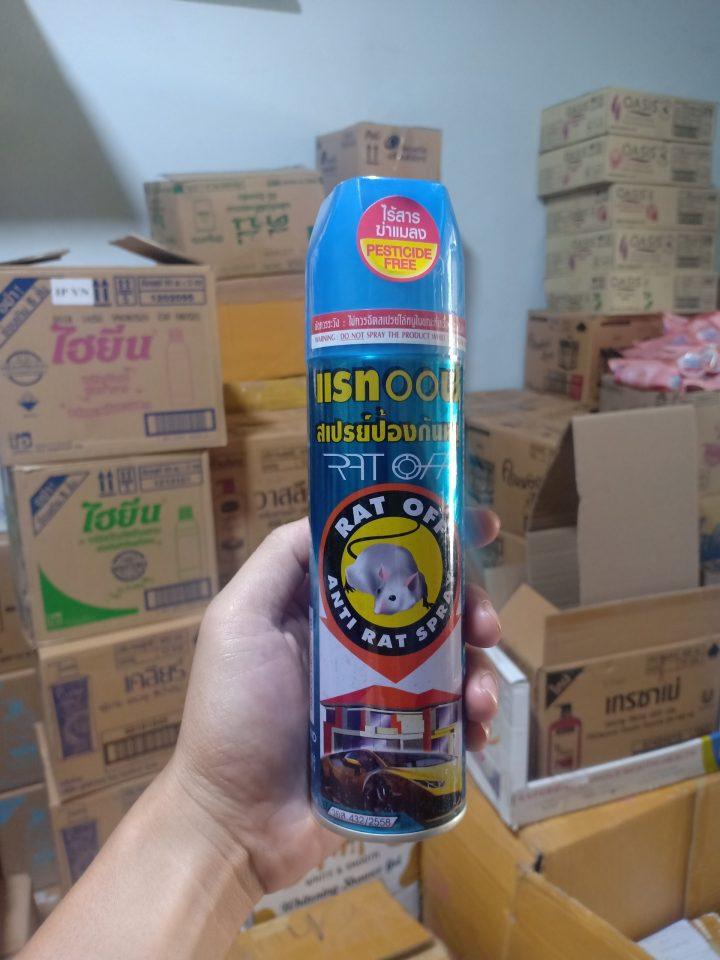 chai xịt diệt chuột Thái Lan Rat-Off