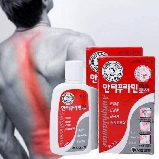 Dầu nóng xoa bóp xương khớp Hàn Quốc