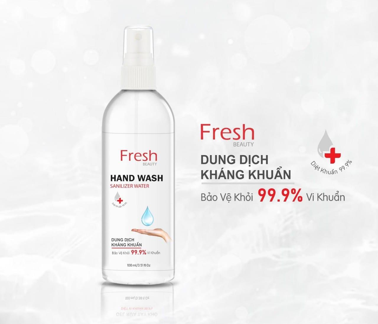 Combo 4 Chai Dung DỊch RỬa Tay KhÔ Fresh 1