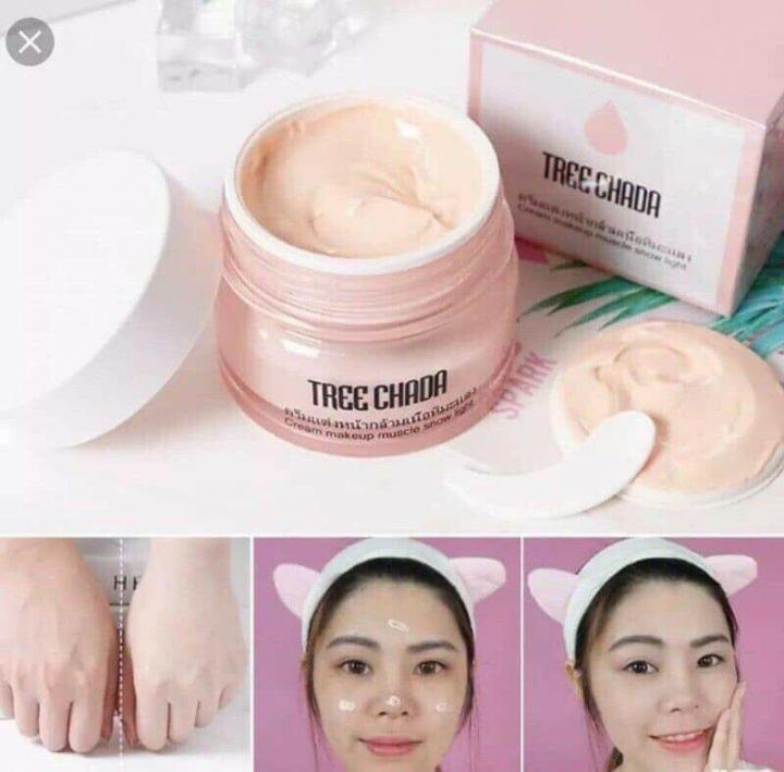 kem dưỡng trắng make up Treechada