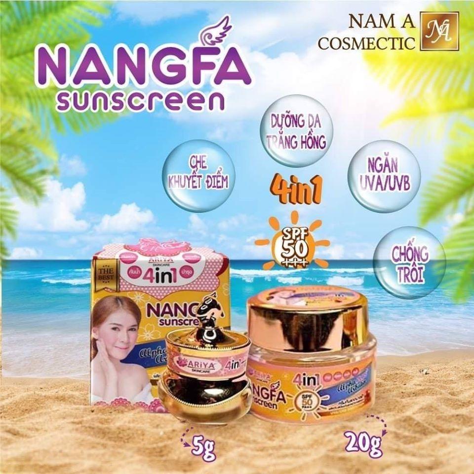 Kem chống nắng Nangfa Sunscreem