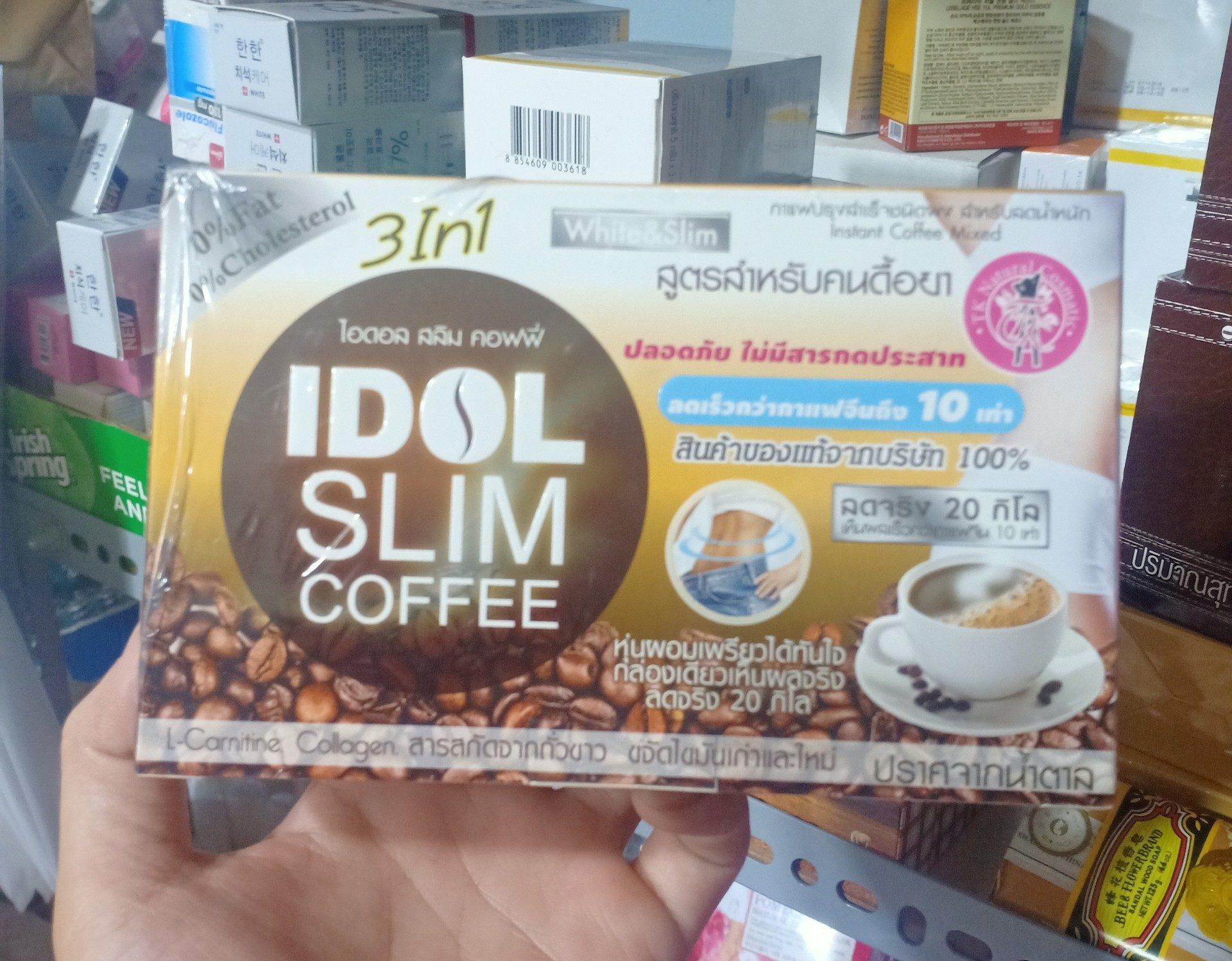Cafe giảm cân Idol Slim 3in1 Thái Lan