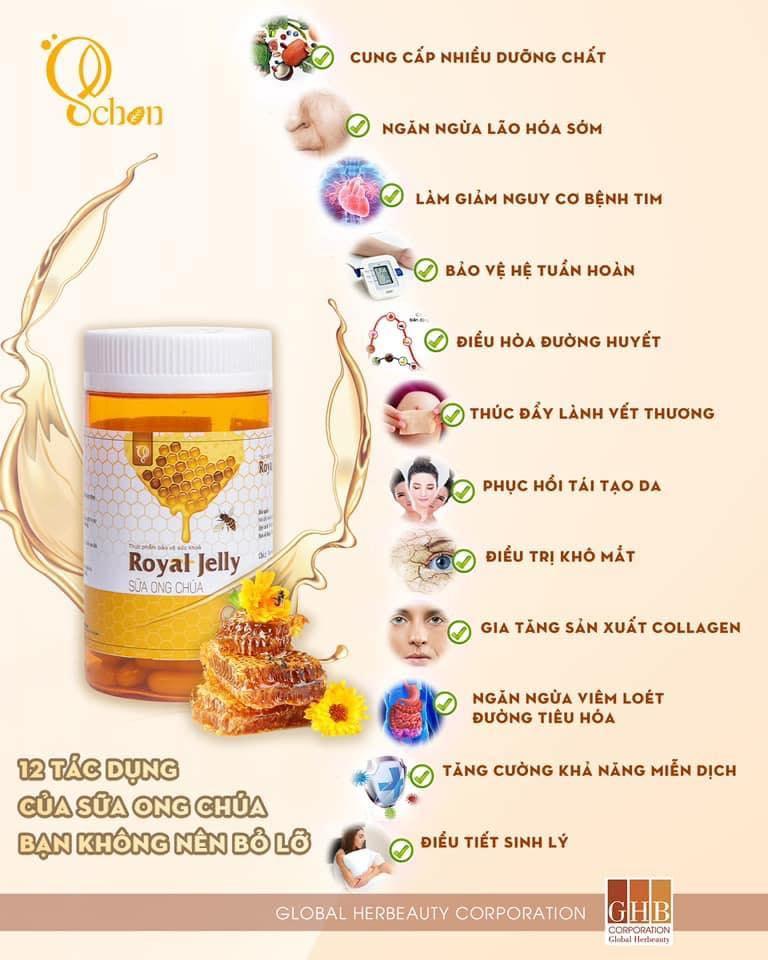 Sữa ong chúa Royal Jelly