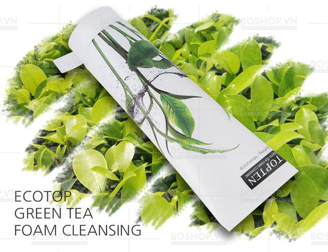 sữa rửa mặt trà xanh Ecotop