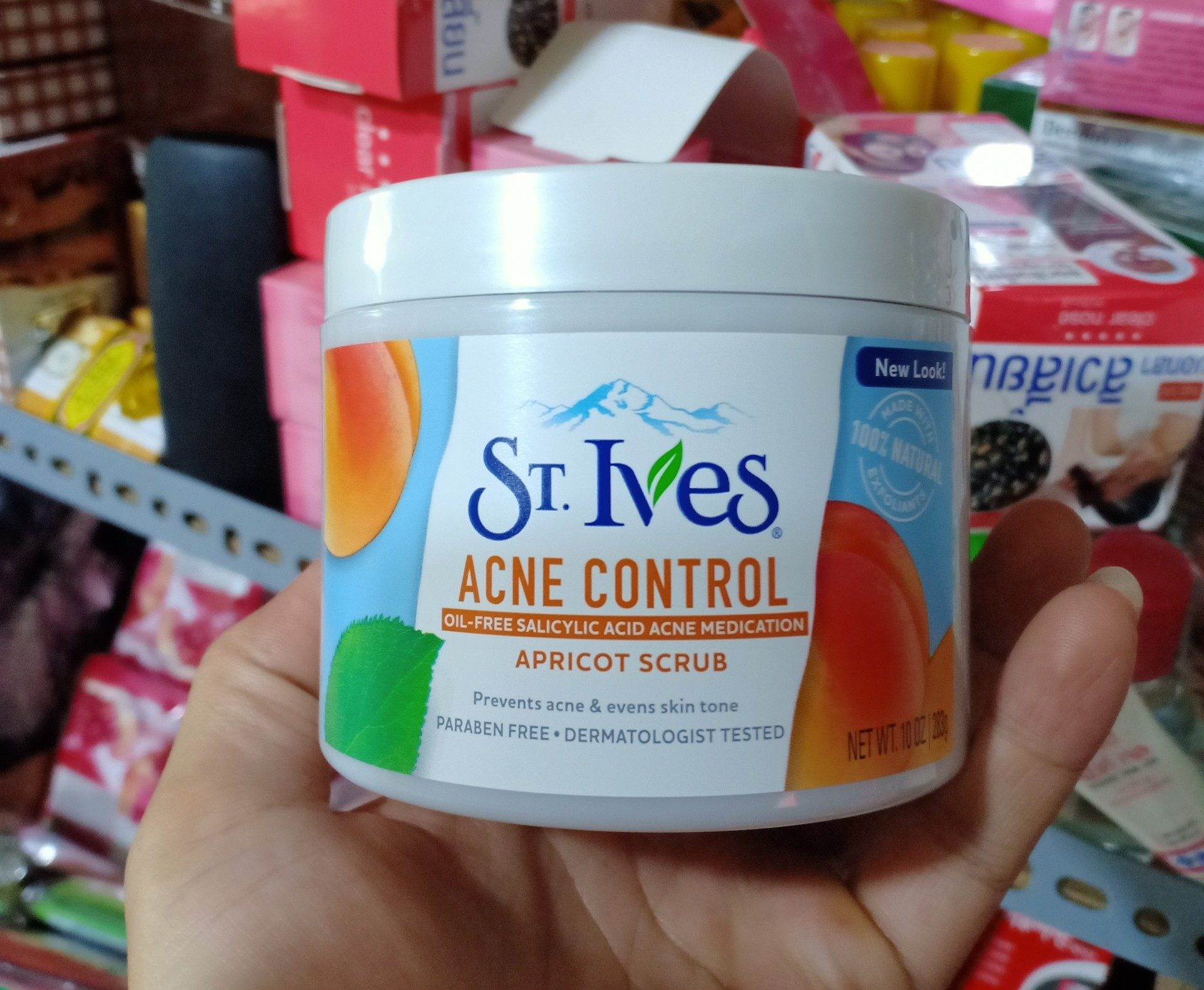 tẩy tế bào chết St.Ives