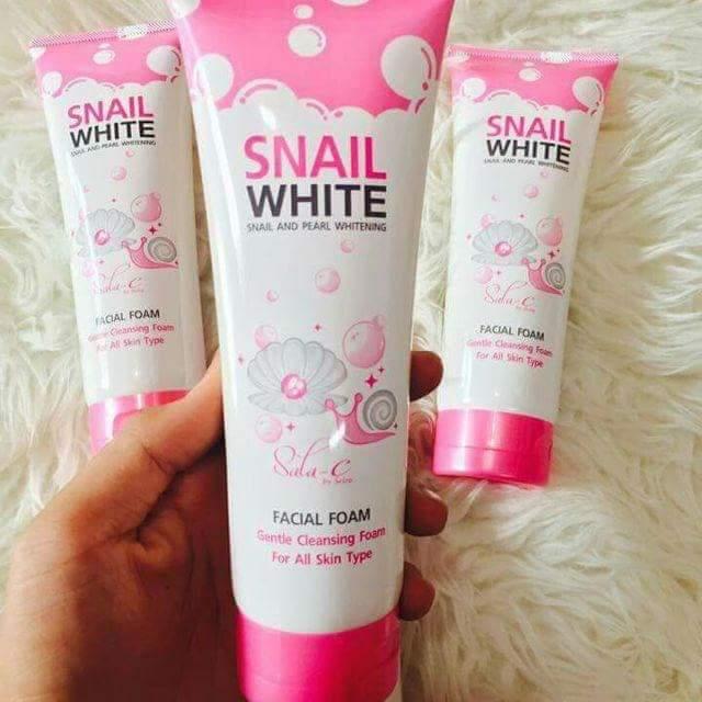 Sữa rửa mặt Snail White