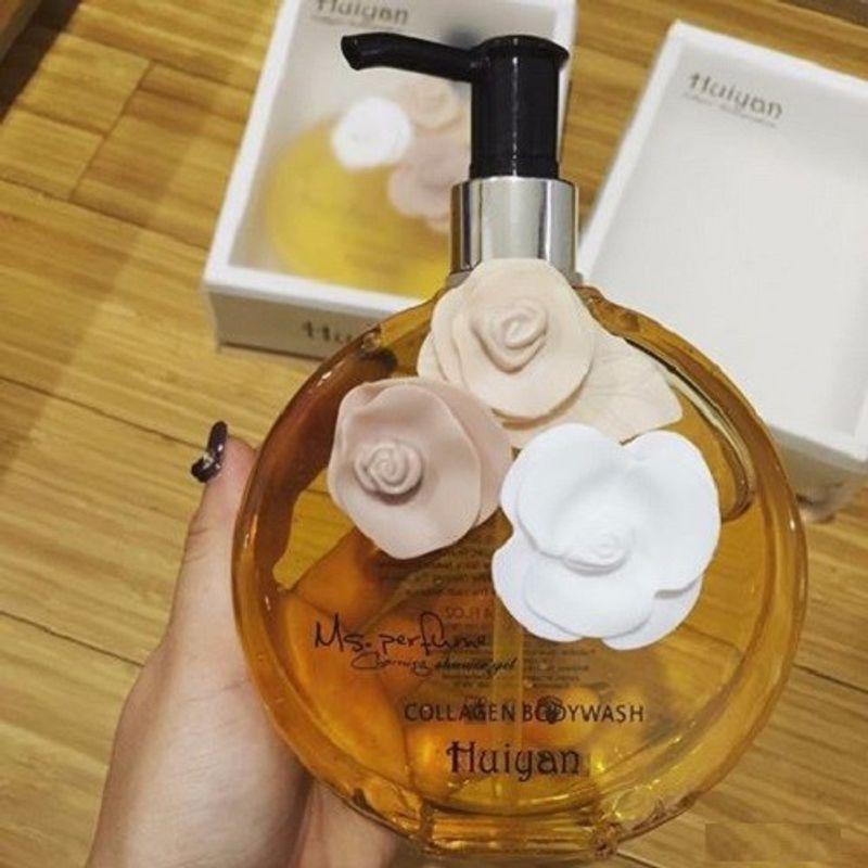 Sữa tắm 3 bông hương nước hoa Huiyan