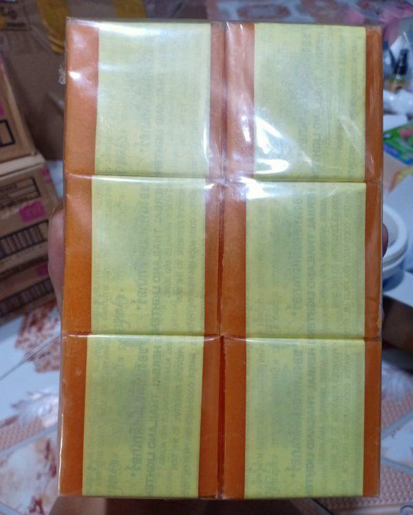 Xà bông cam nghệ Thái Lan Orange Natural Soap