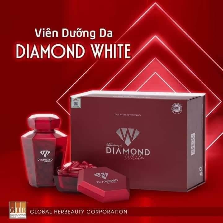 Viên Uống Trắng Da Trị Nám Beauty Diamond White Ngọc Trinh