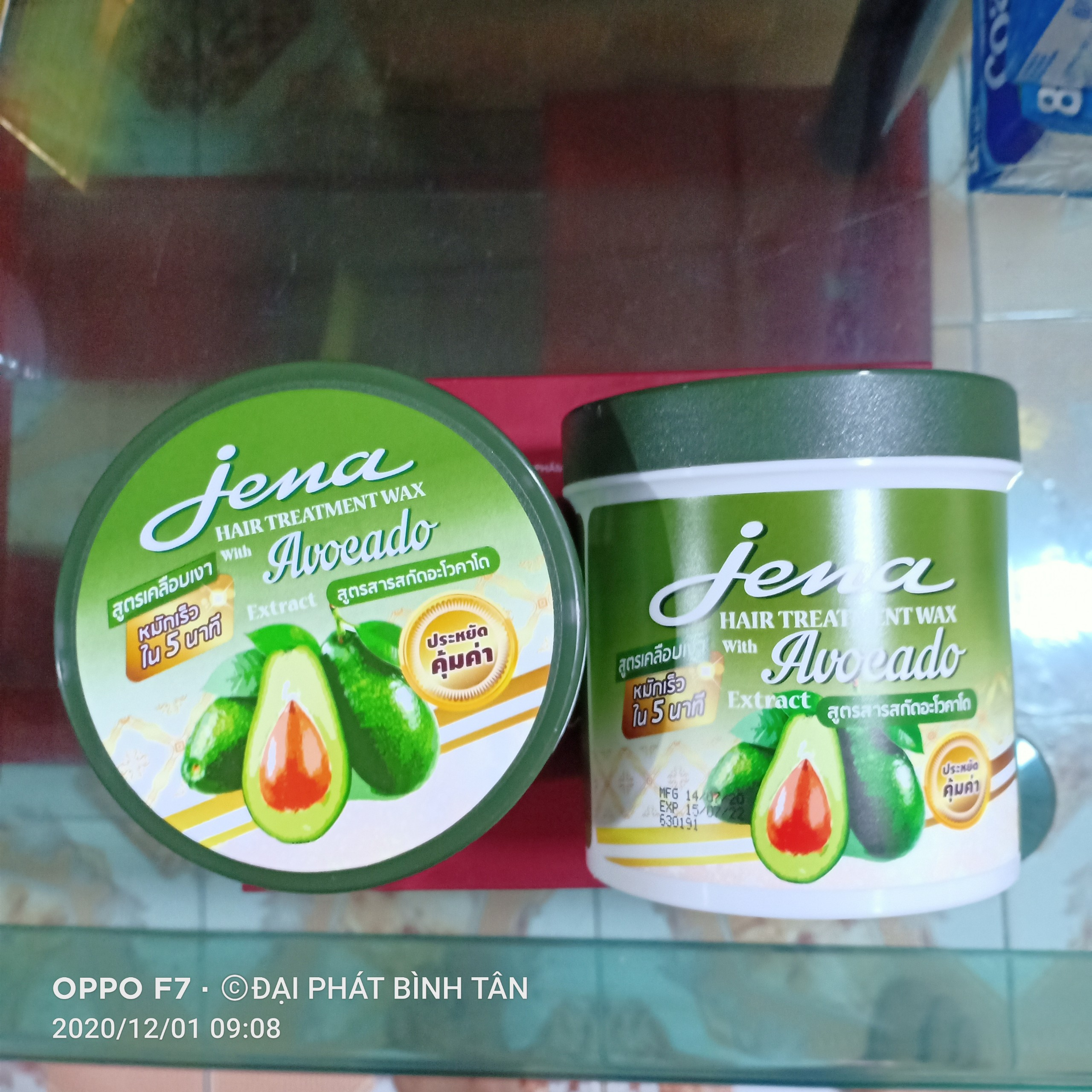 Kem ủ tóc Bơ Jena Hair Treatment Wax Avoeado