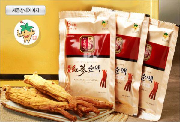 Nước Hồng Sâm Hàn Quốc cao cấp Pocheon 100%