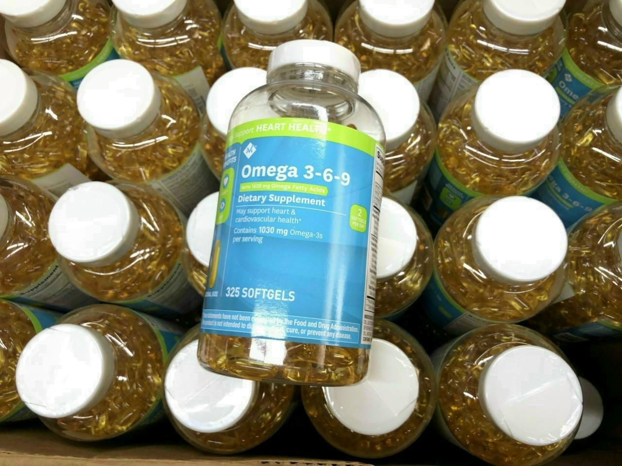 Viên uống dầu cá Omega 369 Heart Heath