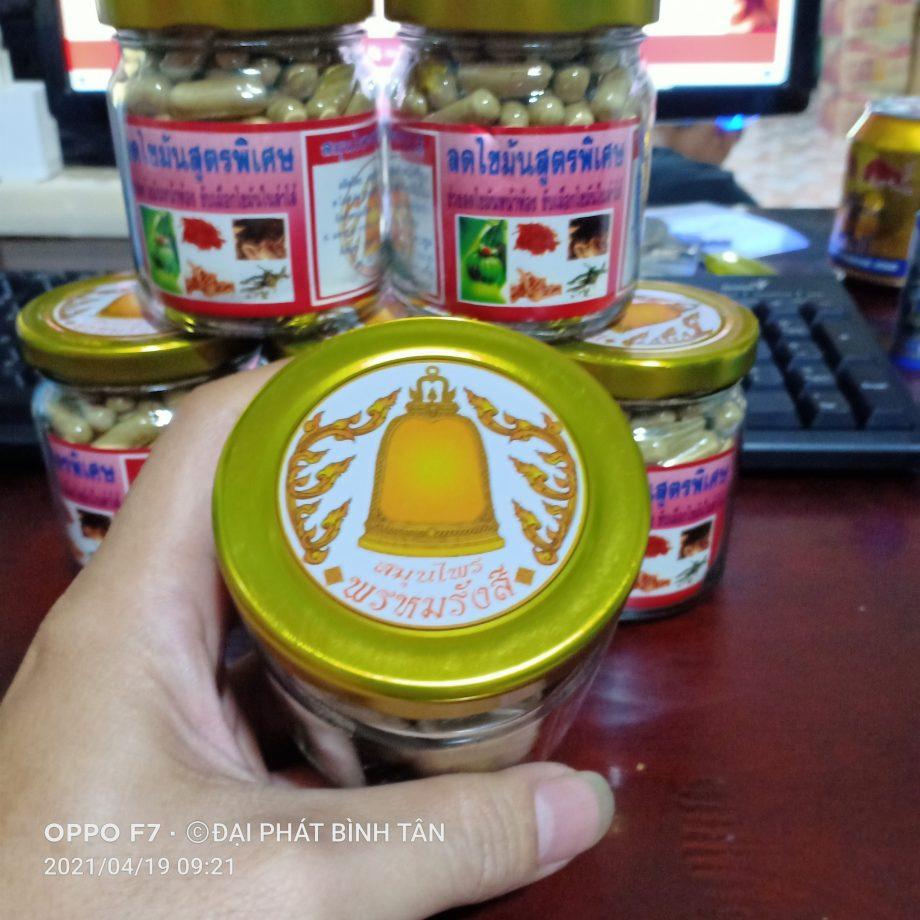 Viên uống giảm cân giảm mỡ đông y Thái Lan