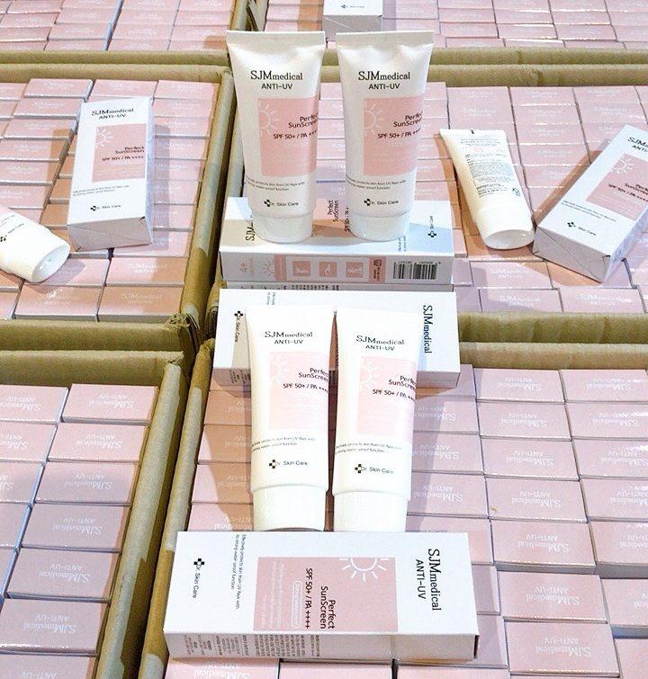 Kem chống nắng Hàn Quốc SJM Medical Anti UV Perfect Sunscreen